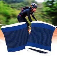 2pcs Unisex-Cotton Sweatband Sports Wrist Band Tennis Gym Yoga Sweat Wristbands
