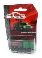 Majorette Farm Serie Model Car metal Tractor Mercedes Benz Zetros crane green