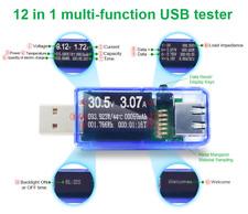 ATORCH 12 in 1 USB Tester.  Volt meter, Amp meter, Watt meter