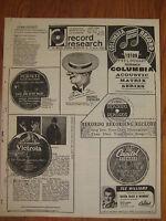 1976 Jussi Bjorling Maurice Chevalier Arturo Toscanini Arque Dickerson record