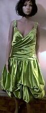 Unbranded Satin V-Neck Regular Size Dresses for Women
