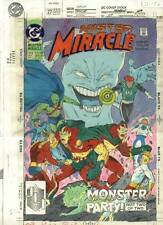 MISTER MIRACLE #27 COVER COLOR GUIDE ART JLA NEW GODS JUSTICE LEAGUE OF AMERICA