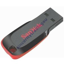 SANDISK CRUZER BLADE 32GB 32G 32 G GB USB FLASH DRIVE LIFE TIME WARRANTY NEW