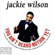 JACKIE WILSON - YOU AINT HEARD NOTHING YET (NEW SEALED CD) ORIGINAL RECORDING