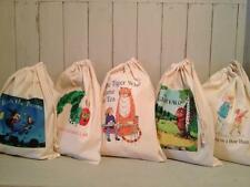 FILL YOUR OWN CHILDMINDER / TEACHER STORY RESOURCE SACK / TOY BAG ANY IMAGE x 10