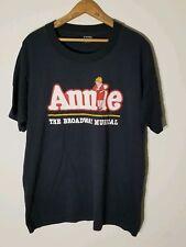 ANNIE THE BROADWAY MUSICAL VTG XL 1992 screen stars
