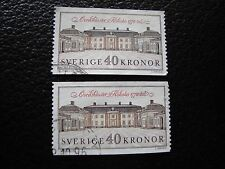 SUEDE - timbre yvert et tellier n° 1611 x2 obl (A29) stamp sweden