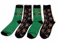 Giorgio Novelty Seasonal 4 Pack Socks Mens UK 7 - 11 A141-11
