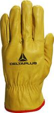 Articles textile et d'habillement gants de protection jaunes pour PME, artisan et agriculteur