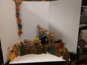 Thanksgiving/ Fall wood decerations