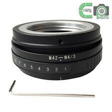 M42-M4/3 Tilt Adapter M42 Screw Lens to Micro 4/3 M43 E-P1 E-PL2 DMC G1 GF2 GF3