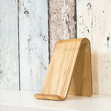 Natural Willow Wood iPhone iPad Smart Phone Tablet Stand Rest Holder Desk Office