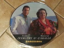 """Freddie Mercury & Montserrat Caballe, collectionneurs -12"""" Picture Disc Rare-qui"""