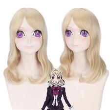 DIABOLIK LOVERS Komori Yui Cosplay Costume Anime Hair Wig heat resistant Z295