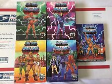 He-Man and the Masters of the Universe Season 1 & 2 Complete DVD Sets + Best Of