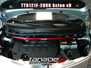 Tanabe Sustec Front Strut Tower Bar for 2008-2013 Scion xD / 2007-2011 Yaris