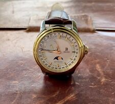B Swiss By Bucherer Prestige Moon Phase Automatic Watch 00.50507.34.13.01