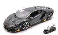Lamborghini Centenario Lp 770-4 2016 Special Edition Carbon / Yellow 1:18 Model