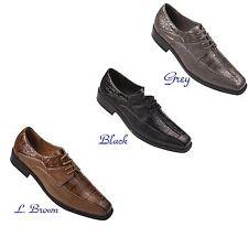 e0e9a89f4 Men's dress shoes animal/lizard/alligator print man-made leather by Milano #