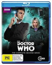 "Doctor Who : Season Series 2 (Blu-ray, 2013, 3-Disc Set) RB ""on sale"""