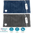 """Extra Large Heating Pad, Ultra Soft, 17"""" x 33"""" w/ Remote Control, Use Wet Or Dry"""