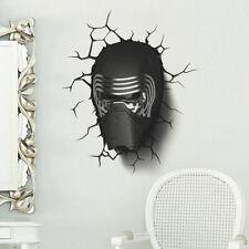 3D KYLO REN Wall Sticker Vinyl Art Home Bedroom Poster STAR WARS
