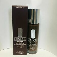 Clinique Beyond Perfecting Foundation + Concealer- CN127 Truffle New/SDS