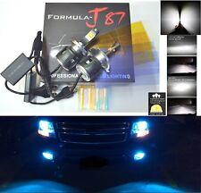 LED Kit C 80W 9003 HB2 H4 10000K Blue Fog Light Two Bulbs High Beam Replacement