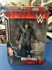 UNDERTAKER WWE Mattel Elite WrestleMania Heritage Wrestling Figure MOC WWF Kane