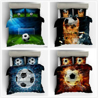 3D Football Soccer Bedding Set Duvet Cover Pillowcase Quilt/Comforter Cover