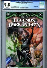 Dark Nights: Death Metal LOTDK #1 (2020) DC CGC 9.8 White Robin King