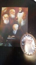 FATHER SOLANUS CASEY blessed prayer card from tomb