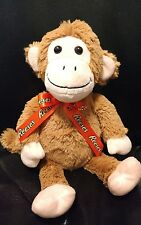 """10"""" SINGING REESES MONKEY PLUSH RAPS SONG TALKS HERSHEY PEANUT BUTTER CUPS"""