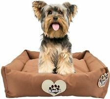 Kimba Dog Travel Bed in Brown for Small Dogs - Hypoallergenic