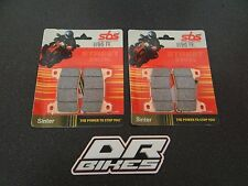 Honda CBR1000RR Fireblade 2006 2007 Street Sintered Front Brake Pads 809HS