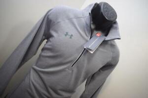 Under Armour Golf Jacket Zip Neck HeatGear Loose Threadborne Womens Sz Large NEW