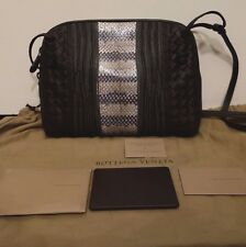 100% Authentic  Bottega Veneta Nappa Embroidered Ayers Pillow Crossbody Bag MINT
