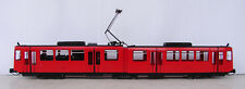 Hand Made. All Brass  San Diego articulated Street Car . HO Scale. Painted.