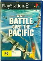 WWII Battle Over The Pacific PS2 Playstation 2 PAL