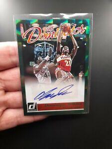 DOMINIQUE WILKINS Autograph Card! 2015-16 Donruss Elite Dominator Auto NBA /49