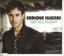 ENRIQUE IGLESIAS - Do You Know ? - CD SINGLE 2007