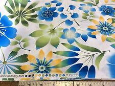 KONA BAY -HAPPY GARDEN #HAPP-01-BLUE-FLORAL-BY THE YARD