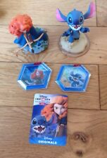 Disney Infinity Figures And Power Discs Merida Brave And LILO Stitch 2.0