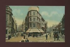 Glos Gloucestershire BRISTOL Baldwin St Clare St tram #38 c1900s? PPC by Boots