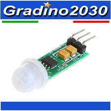HC-SR505 mini sensore di Movimento PIR infrarosso - prossimità  presenza Arduino