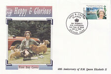 (29209) Turks & Caicos FDC Queen 40 Years Accession 1992