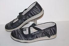 Skechers Z Strap Casual Shoes/Sneakers, #21780, Grey/Black, Women's US Size 7