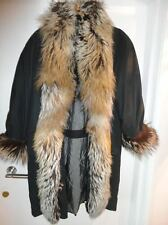 Fur Vintage Trench Coat/Mac Coats & Jackets for Women