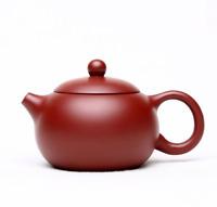 Chinese Yixing Zisha Pottery 140cc Dahongpao Clay Handmade Xishi Gongfu Teapot