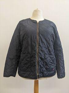 Joules Ladies Navy Padded Jacket Size UK 18